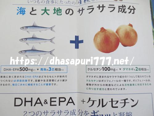 「DHA&EPA+ケルセチン」なるほど!ガイドブック
